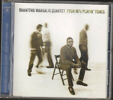 BRANFORD MARSALIS QUARTET Four MF's Playin' Tunes CD NEW 8 track 2012