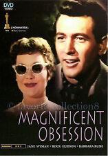 Magnificent Obsession (1954) - Jane Wyman, Rock Hudson - DVD NEW