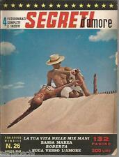 FOTOROMANZI SEGRETI D'AMORE # 26 -AGOSTO  1964- RARO