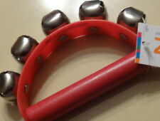 NEW SPRITZ KIDS BELL SHAKER-FUN FOR CLASSES! RED