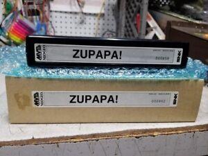 ZUPAPA! NEO GEO MVS CART 100% ORIGINAL SNK NOS NEW with box rare #000858