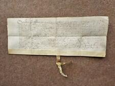 More details for 1583 gaddesby leicestershire 16th century elizabethan latin vellum document