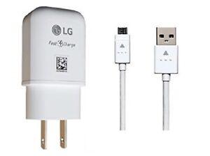 LG OEM Fast Adapter,Micro,QC3.0 Car For LG Stylo 2/3/V10,G4,K20,K30,K40,ARISTO