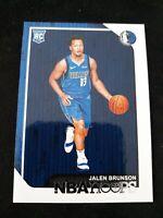 2018-19 NBA Hoops Basketball #243 Jalen Brunson RC Minnesota Timberwolves