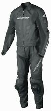 New AGVsport Delta Two Peice Leather Race Suit CE Armour YKK zips