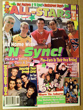 All-Stars Magazine ~June 1999 ~Hanson ~Backstreet Boys~Spice Girls~Moffatts~Five