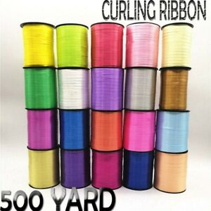500 Yard Curling Foil Balloon string Ribbons tie Wedding Wrapping Gifts Decor