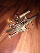Nautical 9'' Maritime Brass Big Sextant Antiques Marine Captain Sextant.