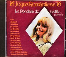 La Rondalla de Satillo 16 Joyas Romanticas CD NICE Latin Spanish Ballads Como