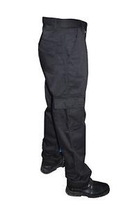 Mens Black Navy Cargo Combat Outdoor Work wear Warehouse Trouser 28 to 56 waist