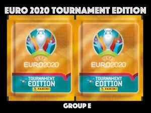 PANINI STICKERS EURO 2020 TOURNAMENT EDITION - GROUP E