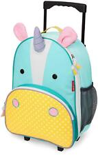 Skip Hop ZOO LUGGAGE KIDS ROLLING SUITCASE - UNICORN Toddler Children Bag BN