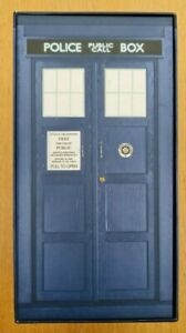Doctor Who 7 CD Box Set Audio Books Large Tardis Box Excellent Condition