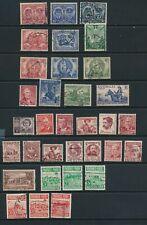AUSTRALIA, 1945-53 all commemoratives sets (1 stamp missing)