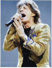REPRINT - MICK JAGGER 2 Rolling Stones autographed signed photo