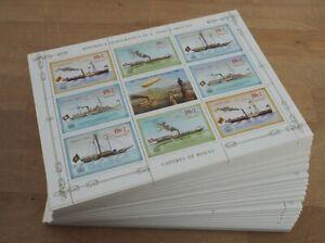 1984 Sao Tome; 500 Kleinbögen Leopold, MiNr. 912/15, postfrisch/MNH, ME 5000,-