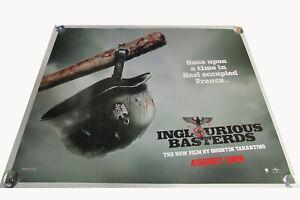 Inglourious Basterds movie UK quad poster ORIGINAL D/S full size Tarantino V1