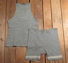 Abbigliamento e accessori vintage grigi vittoriani da Stati Uniti