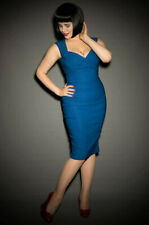 Pinup Couture Erin dress Royal Blue