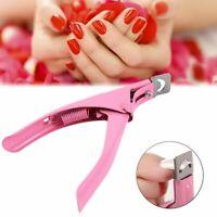 Manicure Tips Cutter Acrylic Nail Scissors False Nail Clipper U Edge Nail Art US