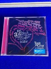 CD de musique live emballés sur album