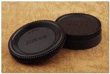 Lens Cap Set Nikon DSLR / SLR Body + Rear Cap D610 D7000 D4 D3300 D810