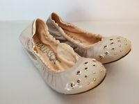Ballasox By Corso Como Womens Tan Slip On Ballet Flats sz 9 Excellent