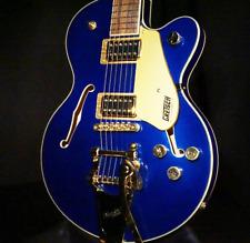 Gretsch G5655TG Electromatic CB Jr. w/Bigsby Azure Metallic Guitar CYGC18110283
