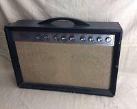 Vintage 1960's Silvertone Model 1474 Twin Twelve Guitar Tube Guitar Amplifier