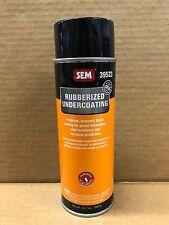 Genuine SEM Premium Rubberized Paintable Undercoating 19.7oz Free Priority 39523