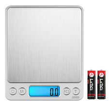 3000g/1g Digitale LCD Taschen Küchen Essen Gold Haushalts Brief Fein Grammwaage