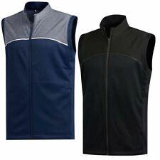 adidas 2020 Golf Mens Go To Sleeveless Full Zip Water Resistant Golf Vest