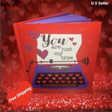 Valentines Book Of Heart Felt Quotes You Are Just My Type~A Must Have! In Stock!