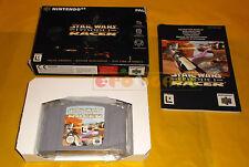 STAR WARS EPISODE I RACER Nintendo 64 N64 Versione PAL Europea ○○○○ COMPLETO