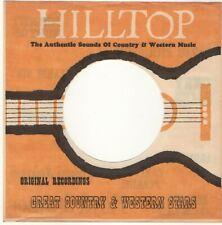 """Hilltop Records 7"""" Companysleeve  Firmenlochcover FLC - USA - Original"""