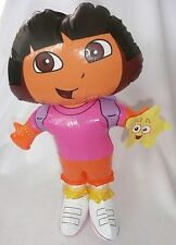 """Dora the Explorer Inflatable Toy Doll with Backpack and Star 20"""" >NEW<"""
