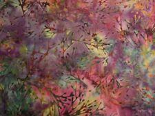 Hoffman Bali Batik Branches Q2106-614-Bohemian Batik Cotton Fabric BTY
