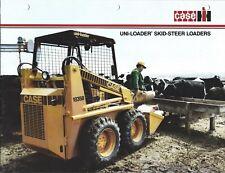 Equipment Brochure - Case - 1816C 1835B 1845C Uni-Loader Skid Steer (E4487)