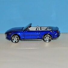 2017 Hot Wheels FACTORY FRESH #104 '15 Ford Mustang GT Convertible -Blue- Loose