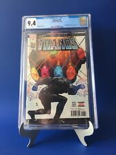 THANOS #17 CGC 9.4 HULK ANNUAL COVER HOMAGE DONNY CATES SILVER SURFER BLACK HOT!