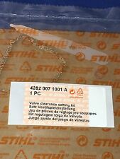 Stihl New OEM BR600 BR550 BR500 Valve Clearance Kit 4282 007 1001 New