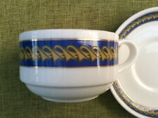 """British Airways Concorde """"Droop Snoot"""" Royal Doulton Cup and Saucer 1st Series"""