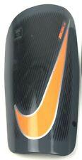 Nike Mercurial Lite Shin Guards Dark Grey / Black / Total Orange Size Xl