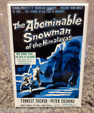 """Abominable Snowman of Himalayas Movie Poster 2"""" x 3"""" Refrigerator Locker Magnet"""