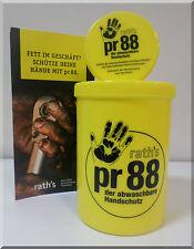 NEU PR 88 Set 1Liter +100 ml Abwaschbarer Handschuh Handschutz Creme Handpflege