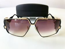vintage CAZAL 951 col 365 black/gold W.Germany rare sunglasses case 80s HipHop
