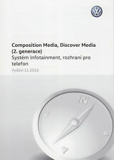 New listing Operating Manual • Vw Composition Discover Media • Navod K Obsluze • Czech • New