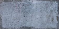 """Blaue spanische Wandfliese """"Esenzia Note"""", 15x30 cm, einfarbig, Vintage"""