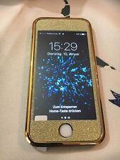 **** iPhone 5/5S Und SE Gold Glitzer Cover Neu !!! ****
