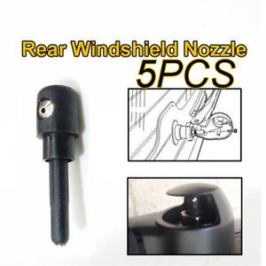 5Pcs Rear Windscreen Washer Jet Nozzle For VW Passat Lupo Scirocco Audi A4
